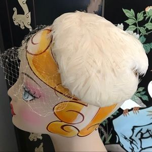 Vintage Feather Fascinator